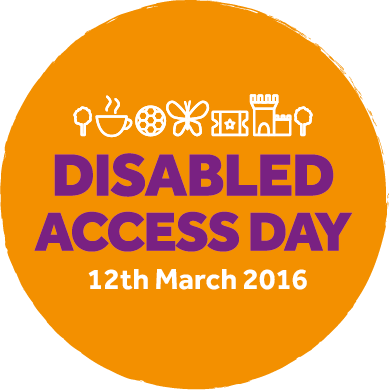 The Disabled Access Day logo